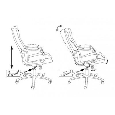 Кресло руководителя T-898AXSN основное изображение