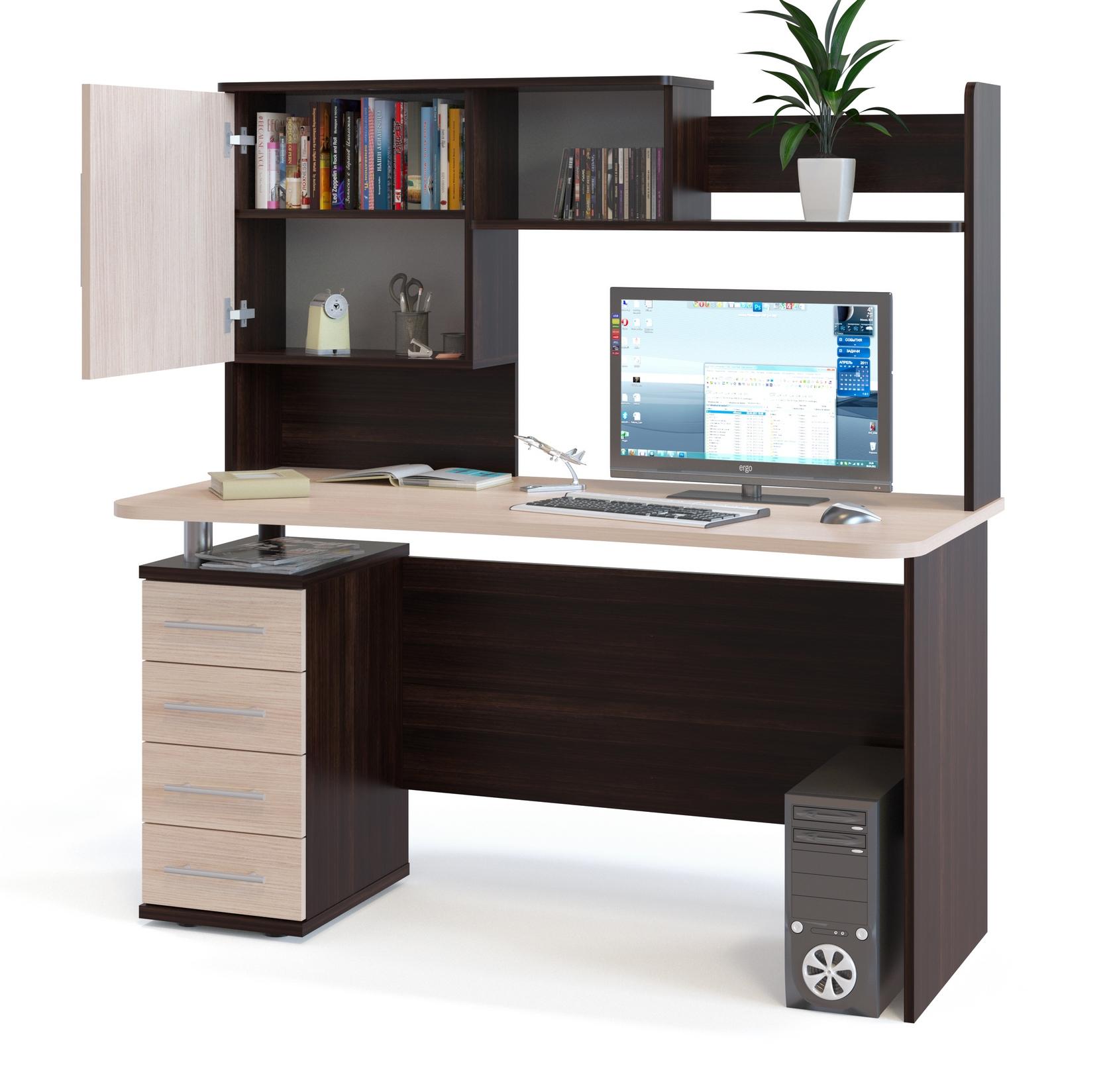 компьютерный стол кст 1051 кн 14 хаггард 1 компьютерные столы