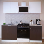 Прямой кухонный гарнитур ПН-08 + ТК-08м + ПН-06 + ТК-06.1