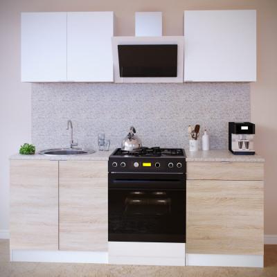 Прямой кухонный гарнитур ПН-08 + ТК-08м + ПН-06 + ТК-06.1 основное изображение