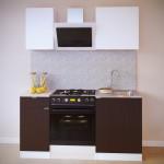 Прямой кухонный гарнитур ПН-04 + ТК-04.1 + ПН-06 + ТК-06м