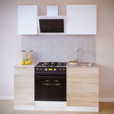Прямой кухонный гарнитур ПН-04 + ТК-04.1 + ПН-06 + ТК-06м основное изображение