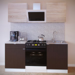 Прямой кухонный гарнитур ПН-06 + ТК-06.1 + ПН-06 + ТК-06м