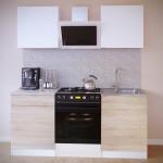 Прямой кухонный гарнитур ПН-06+ТК-06.1+ПН-06+ТК-06м