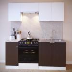 Прямой кухонный гарнитур ПН-04 + ТК-04.1 + ПН-06.2 + ПН-08 + ТК-08м