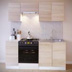 Прямой кухонный гарнитур ПН-04+ТК-04.1+ПН-06.2+ПН-08+ТК-08м