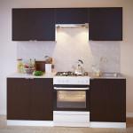 Прямой кухонный гарнитур ПН-08 + ТК-08 + ПН-06.2 + ПН-06 + ТК-06м