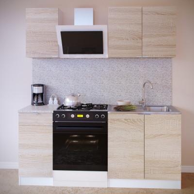 Прямой кухонный гарнитур ПН-04 + ТК-04.1 + ПН-08 + ТК-08м основное изображение