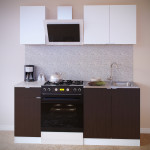 Прямой кухонный гарнитур ПН-04 + ТК-04.1 + ПН-08 + ТК-08м