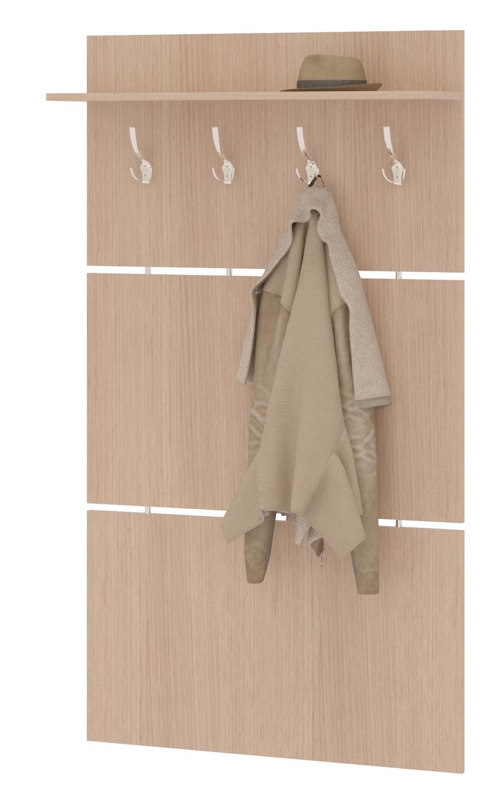 Настенная вешалка для одежды в прихожую своими руками фото
