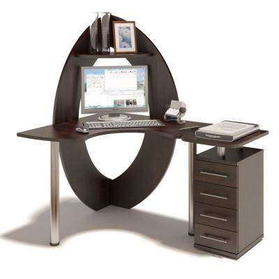 Компьютерный стол КСТ-101 + КТ-101.1 основное изображение