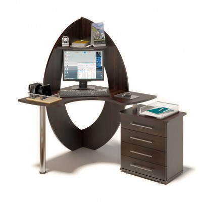 Компьютерный стол КСТ-101 + КТ-102 основное изображение
