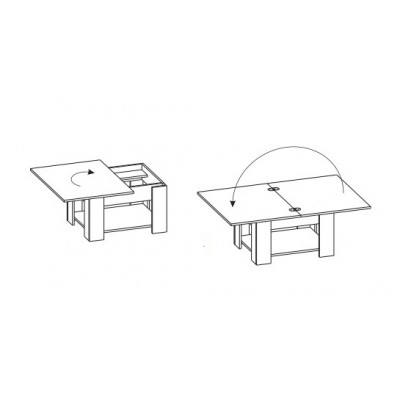 Журнальный столик СЖ-1 основное изображение