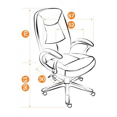 Кресло руководителя COMPACT ST основное изображение