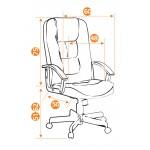 Кресло руководителя CH9944 хром