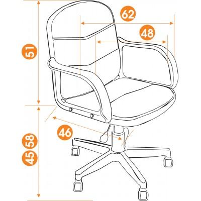 Офисное кресло из экокожи BAGGI основное изображение