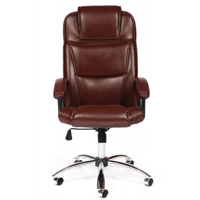 Офисное кресло руководителя BERGAMO CHROME основное изображение