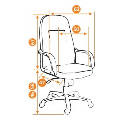 Кресло руководителя Leader основное изображение